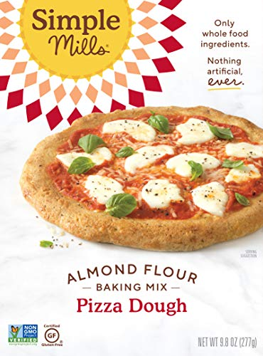 Simple Mills - Naturally Gluten-Free Almond Flour Mix Pizza Dough - 9,8 oz.