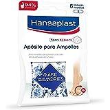 Hansaplast Apósito para ampollas pequeño, apósito transparente para un alivio instantáneo del dolor, apósitos adhesivos para los dedos de los pies, 1 x 6 unidades