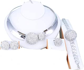 Jewelry Sets for Women- Wedding Jewelry Sets for Brides...