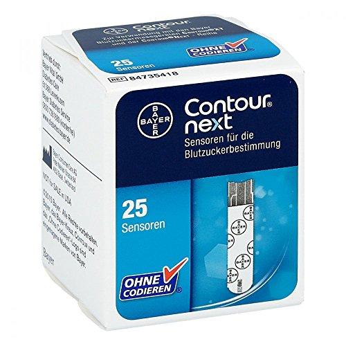 Contour next Sensoren Teststreifen, 1X25 St