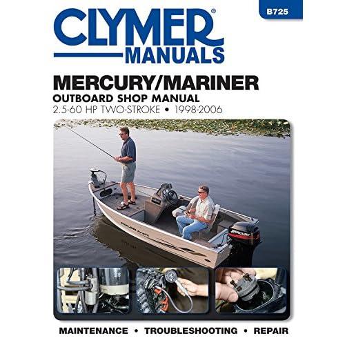 mercury 40 50 60 outboard workshop repair manual efi