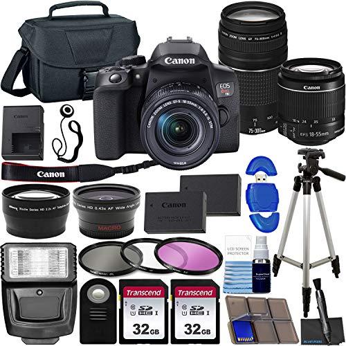 Canon EOS Rebel T8i DSLR Camera with Canon ...