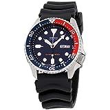 Seiko Divers Navy Dial Rubber Strap Men's Watch SKX009P9