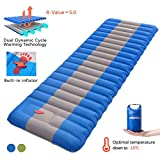 Overmont Sleeping Pad Self Inflating Lightweight Waterproof Inflatable Camping Tent Mattress Pad for Sleeping...