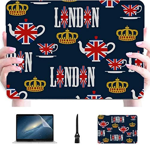 13inch MacBook Pro Case London Symbols with Elizabeth Tower Big Ben Plastic Hard Shell Compatible product image