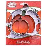 Pumpkin Cookie Cutter Set, 3 Piece, Stainless Steel
