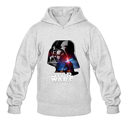 yutuo Star Wars de los hombres más simple Logo sudadera con capucha