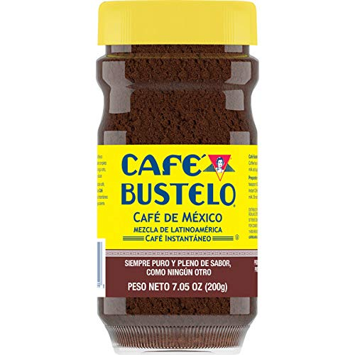 Café Bustelo Café de México Latin American Blend Dark Roast Instant Coffee, 7.05 Ounces