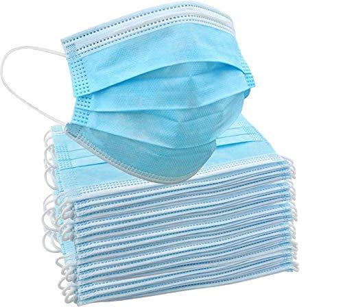 Zertifiziert ISO CE 50St Maske, Staubmaske, Mundschutz, atmungsaktive Gesichtsabdeckung, Masken Mundschutz