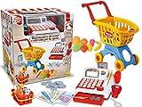 Teorema 64492 - Mini Market con Carrello Spesa, Registratore di Cassa ed Accessori