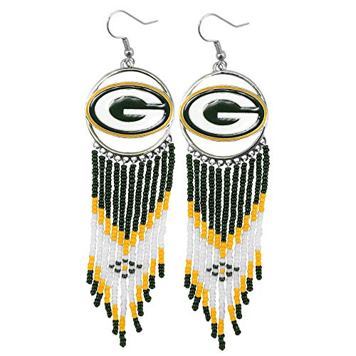 Littlearth NFL Green Bay Packers Dreamcatcher Earring