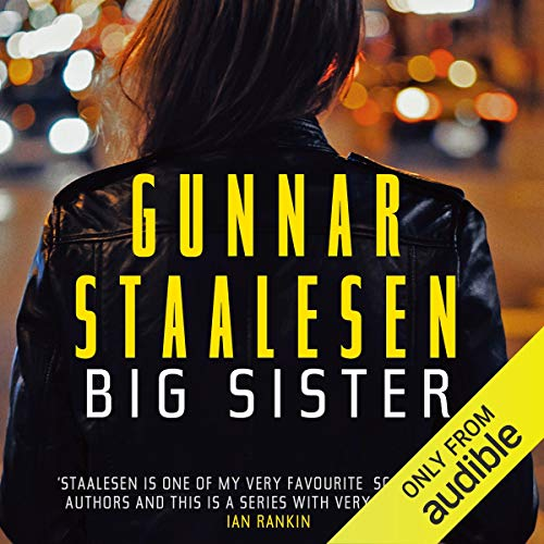 Big Sister audiobook cover art