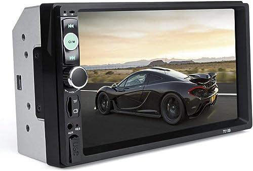 hasta 60% de descuento Sunnyday Doble 2 DIN Car Car Car Audio 7in HD Radio En el Tablero PanTalla táctil Estéreo MP3 MP5 Player 7010B Control del Volante USB  Precio al por mayor y calidad confiable.