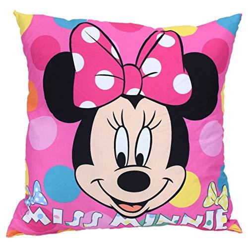 Carbotex Disney Minnie Mouse Miss Minnie - Cojín (36 x 36 cm)