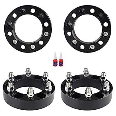 FLYCLE 1.5 inch 6x5.5 to 6x5.5 Wheel Spacers Compatible for Silverado 1500,Tahoe,Suburban 1500,Express 1500,Sierra 1500,Yukon with 14x1.5 Studs 108mm