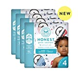 The Honest Company | Baby Diapers with Trueabsorb Technology | Winter Wonder | Size 4 | 92Count