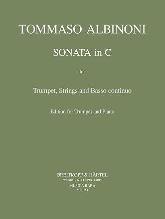 Sonata in C - Ausgabe für Trompete und Klavier (MR 1154)