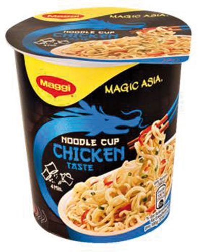 8x Maggi - Magic Asia Noodle Cup Chicken, Instant Nudel Snack