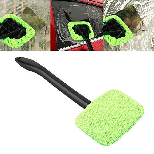 takestop® washandjes voor voorruit, van microvezelspons met handvat 34 cm reiniger voor auto's, reiniging met glasreiniging, wasmachine, spiegel, BALCONI glasreiniger