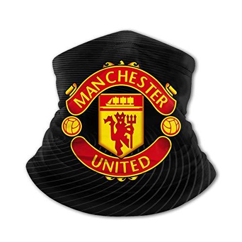 Kids Manchester United Face Mask Scarf Unisex Reusable Versatility Comfortable Windproof Neck Warmer