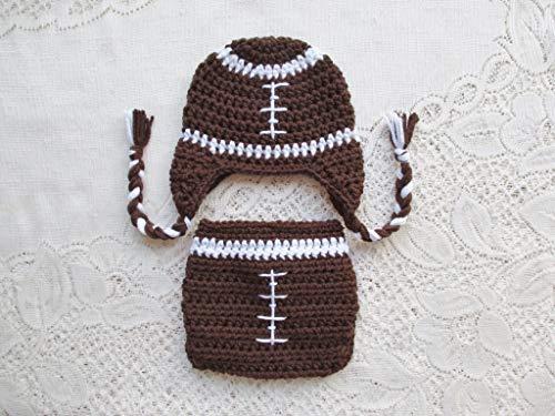 crochet football hat - 3