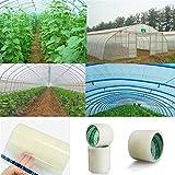 Cinta Adhesiva para Reparaciones, para Reparación de Daños en Invernaderos al Aire Libre, Impermeable, Tuberías de Agua, Productos de Madera, Reparación de Juntas de Grietas 6 cm * 10 m