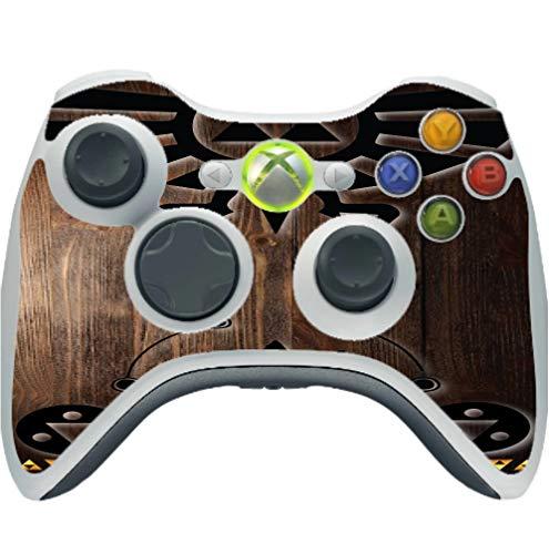 Zelda Triforce Vinyl Decal Sticker Skin by EandM for Xbox 360 Wireless Controller