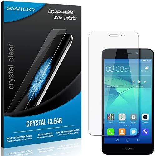 SWIDO Schutzfolie für Huawei GT3 [2 Stück] Kristall-Klar, Hoher Festigkeitgrad, Schutz vor Öl, Staub & Kratzer/Glasfolie, Bildschirmschutz, Bildschirmschutzfolie, Panzerglas-Folie