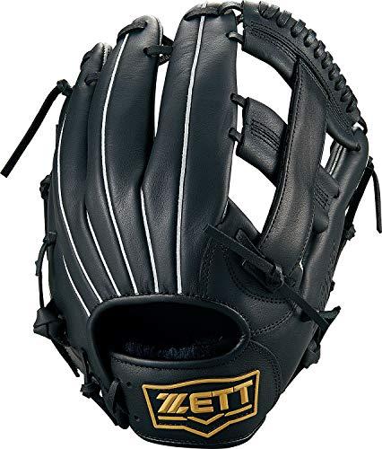 ZETT(ゼット) 野球グローブ 軟式/ソフトボール兼用 ライテックス オールラウンド用 ブラック(1900) 右投げ用 BSGB3900 グラブ