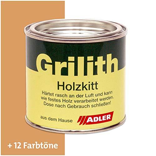 ADLER Grilith Holzkitt Spachtelmasse Kitt für Holz Möbel Basteln Reparieren Buche Lärche 200 ml