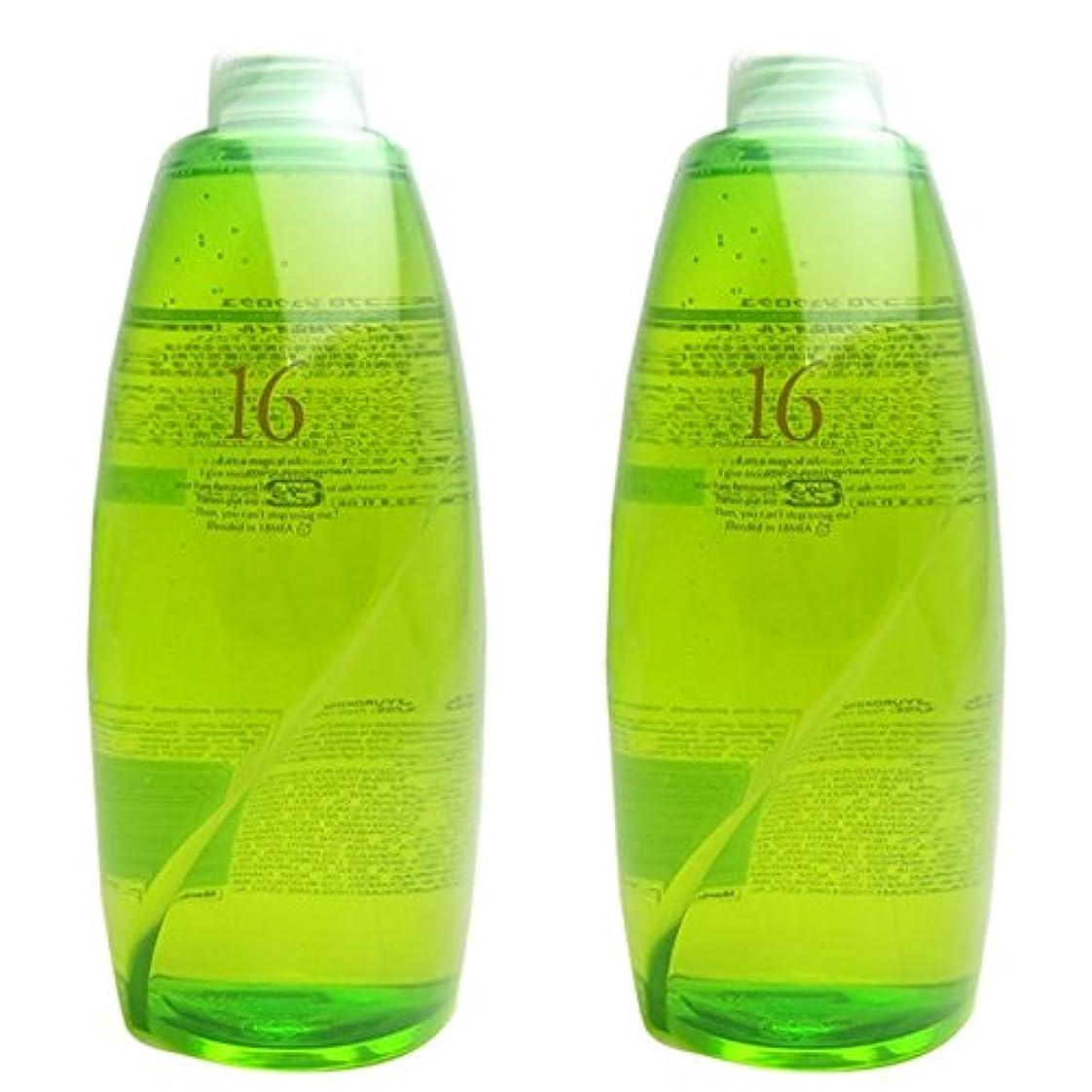 どこにでもテニスバンク【X2個セット】 ハホニコ 十六油 (洗い流さないトリートメント) 1000ml 詰替え用 hahonico