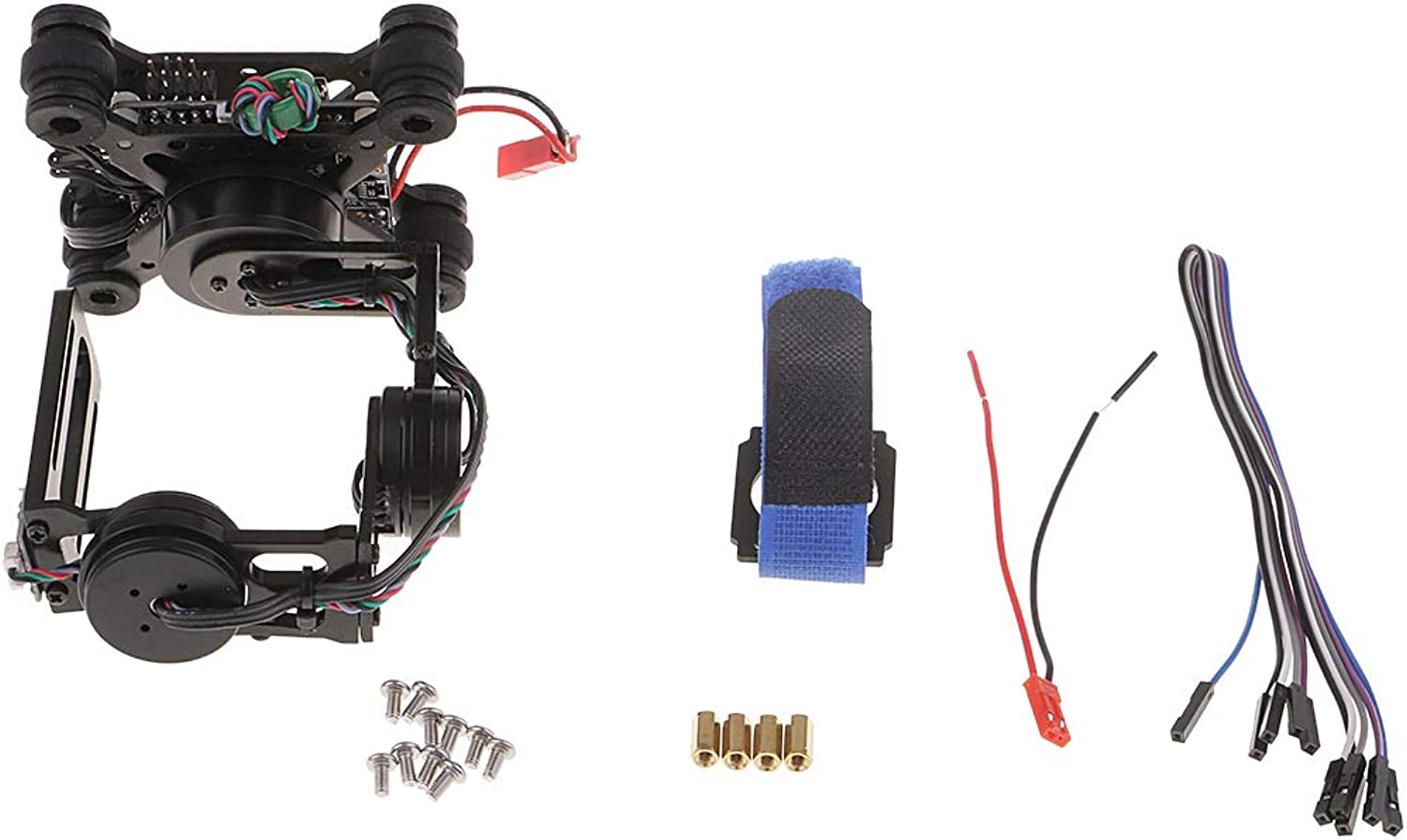 D DOLITY RTF 3 Axis Brushless Gimbal Camera with Motors Controller for Gopro 3 4 Camera
