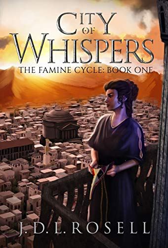Couverture du livre City of Whispers: The Famine Cycle, Book 1 - An Immersive Epic Fantasy Series of Political Intrigue and Mystery (English Edition)