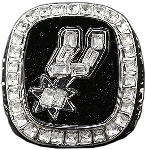 NBA Men's Professional League 1999 San Antonio Spurs Championship Anillo, Anillo De Campeón De Imitación Anillo De Souvenir, Caja, 11#, with Box - 11#