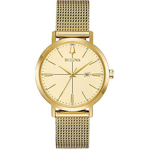 Bulova - Reloj solo tiempo para mujer, elegante, cód. 97M115