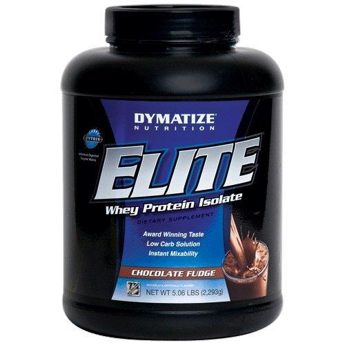 Dymatize Elite Whey Protein 2293 g Chocolate Fudge