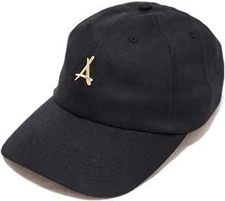 """Tha Alumni Clothing (アルムナイクロージング) ロゴ 6パネル ストラップバックキャップ ブラック""""24K BLACK DAD HAT"""" [並行輸入品]"""