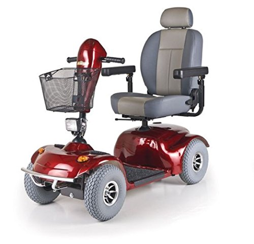 Affordable Golden Technologies - Avenger - Heavy Duty Scooter - 4-Wheel - Red