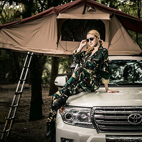 Dachzelt geächtet Lange Wasserdichte Outdoor Camping Camping Mobile Room Double Self-Driving Field Prevention Beast