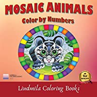 Mosaic Animals Color By Number: Mosaic Animals Color By Number: Coloring with numeric worksheets, Color by number for Adults and Children with colored pencils.Advanced color By Number.
