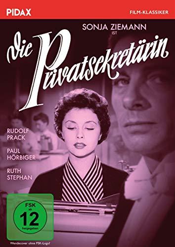 Die Privatsekretärin / Erfolgreiche Liebeskomödie mit dem Traumpaar Rudolf Prack und Sonja Ziemann (Pidax Film-Klassiker)