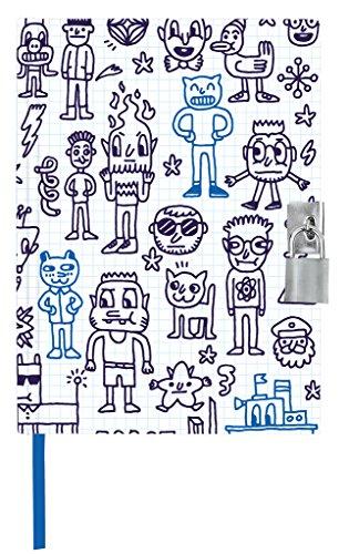 moses- Diario de cómic con candado de Metal (26139)