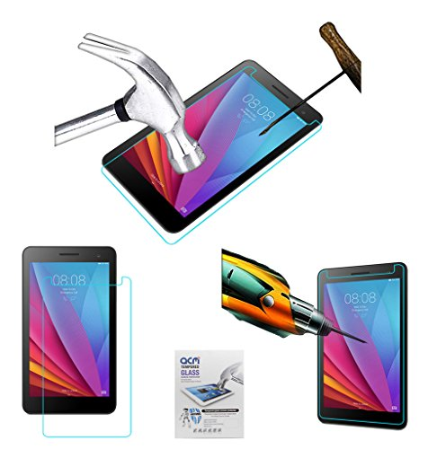 Acm Tempered Glass Screenguard Compatible with Huawei Mediapad T1-701u Screen Guard Scratch Protector