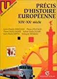 PRECIS D HISTOIRE EUROPEENNE