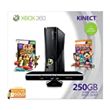 xbox 360 console 250gb bundle - Xbox 360 250GB Holiday Value Bundle with Kinect