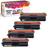 ejet TN423 TN421 Cartucce Toner Compatibili per Brother TN423 TN421 Toner per Brother HL L8260CDW,L8360CDW,L9310CDW,MFC L8900CDW,L8610CDW,L9570CDW,L8690CDW,DCP L8410CDW(1Nero/1Ciano/1Magenta/1Giallo)