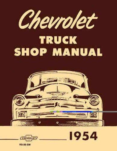 CHEVROLET TRUCK SHOP MANUAL 1954 MODELS