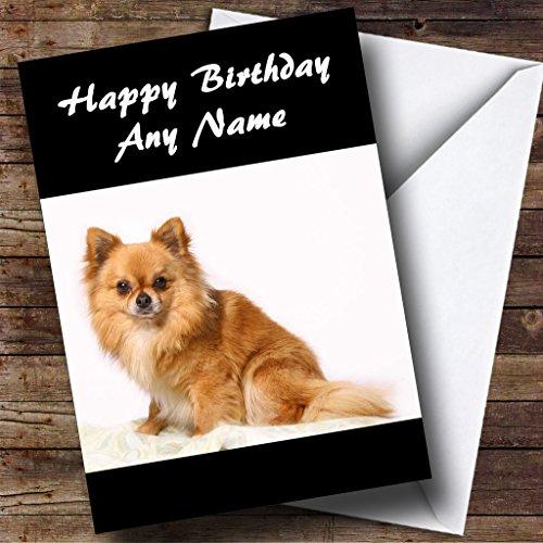 Kleine Chihuahua Hond Gepersonaliseerde Verjaardagskaart