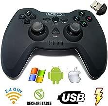Matricom G-Pad EX Wireless USB Rechargeable Pro Game Pad Joystick w/3D Feedback