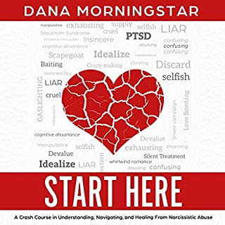 Couverture de Start Here: A Crash Course in Understanding, Navigating, and Healing From Narcissistic Abuse